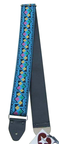 Souldier Ace Replica straps Clapton/Turquoise ギターストラップ