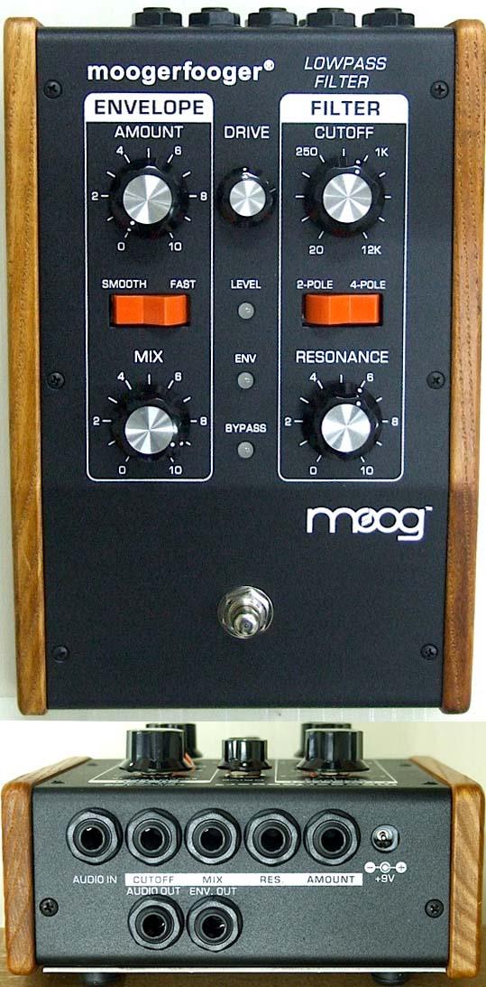 moog moogerfooger MF-101 Lowpass Filter エフェクター