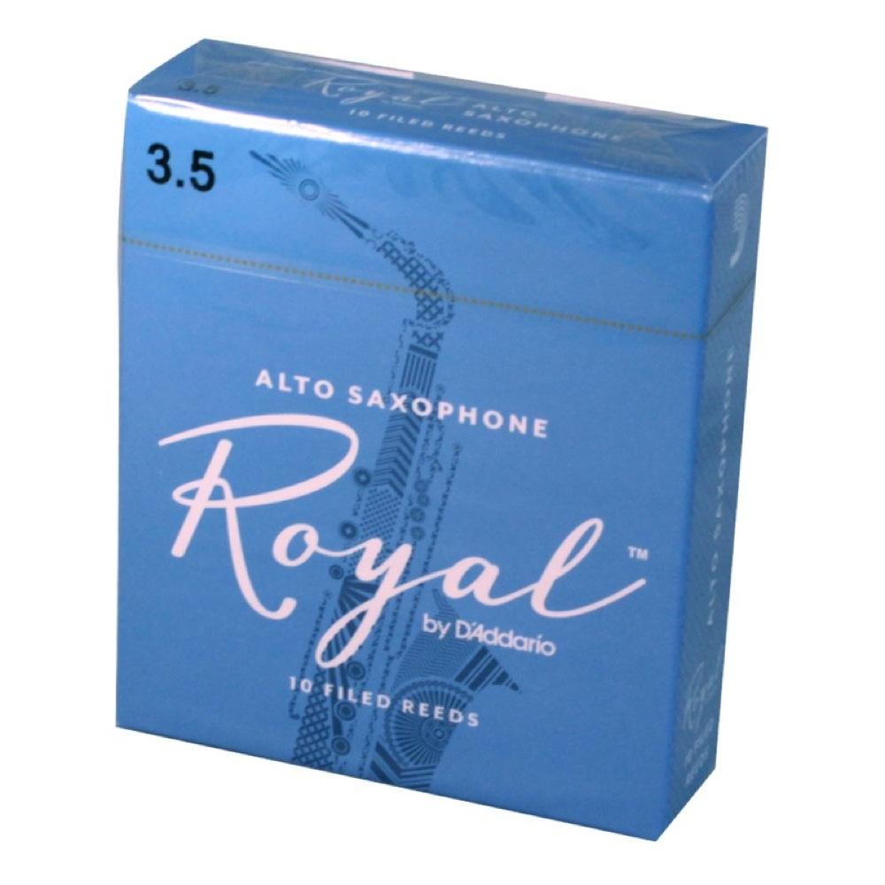 RICO マート Royal 3 1 2 D'Addario 3.5 アルトサックスリード リコ ロイヤル LRICRYAS3.5 Woodwinds 新着セール