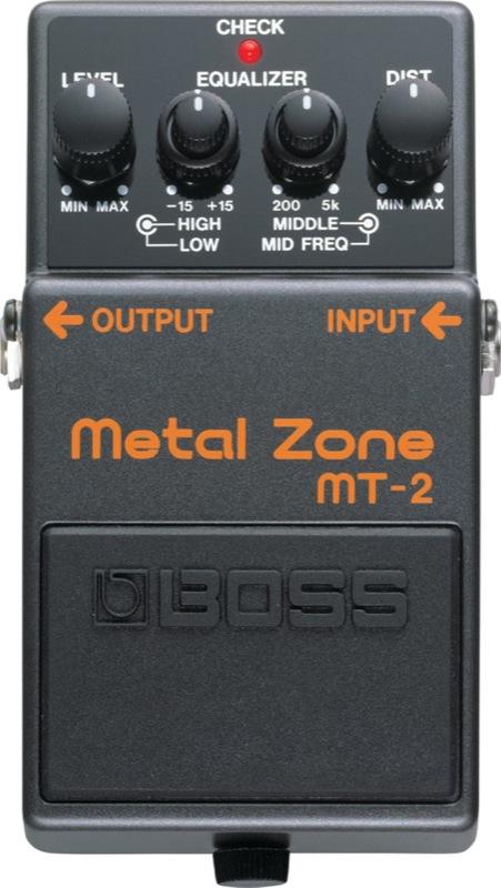 BOSS MT-2 メタルゾーン エフェクター