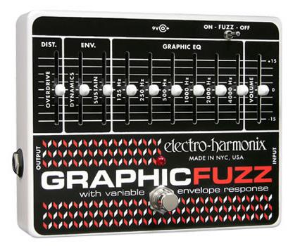 ELECTRO-HARMONIX Graphic Fuzz ギターエフェクター 正規輸入品