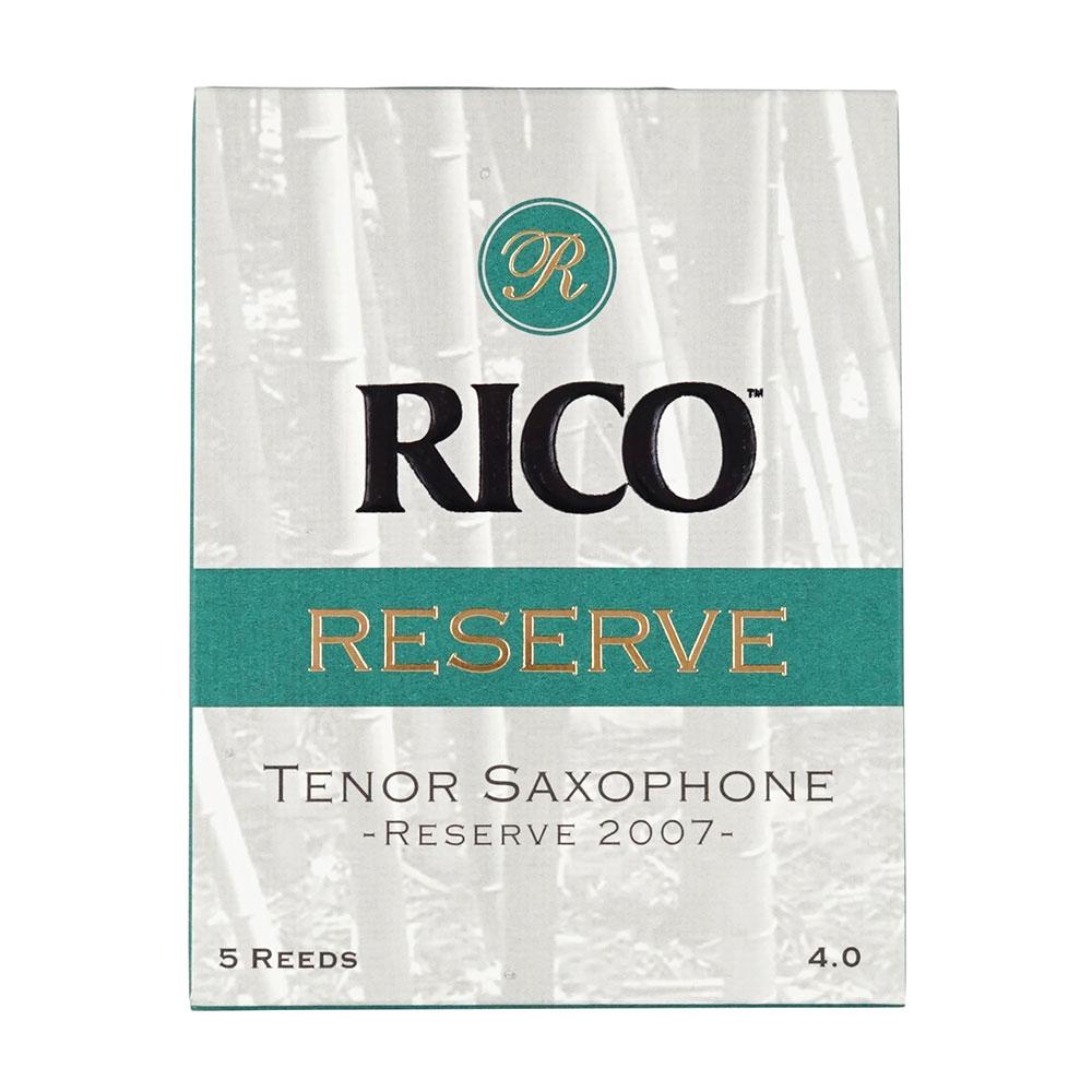 RESERVE テナーサクソフォンリード[4] D'Addario Woodwinds/RICO LRICRETS4 レゼルヴ テナーサックスリード[4]