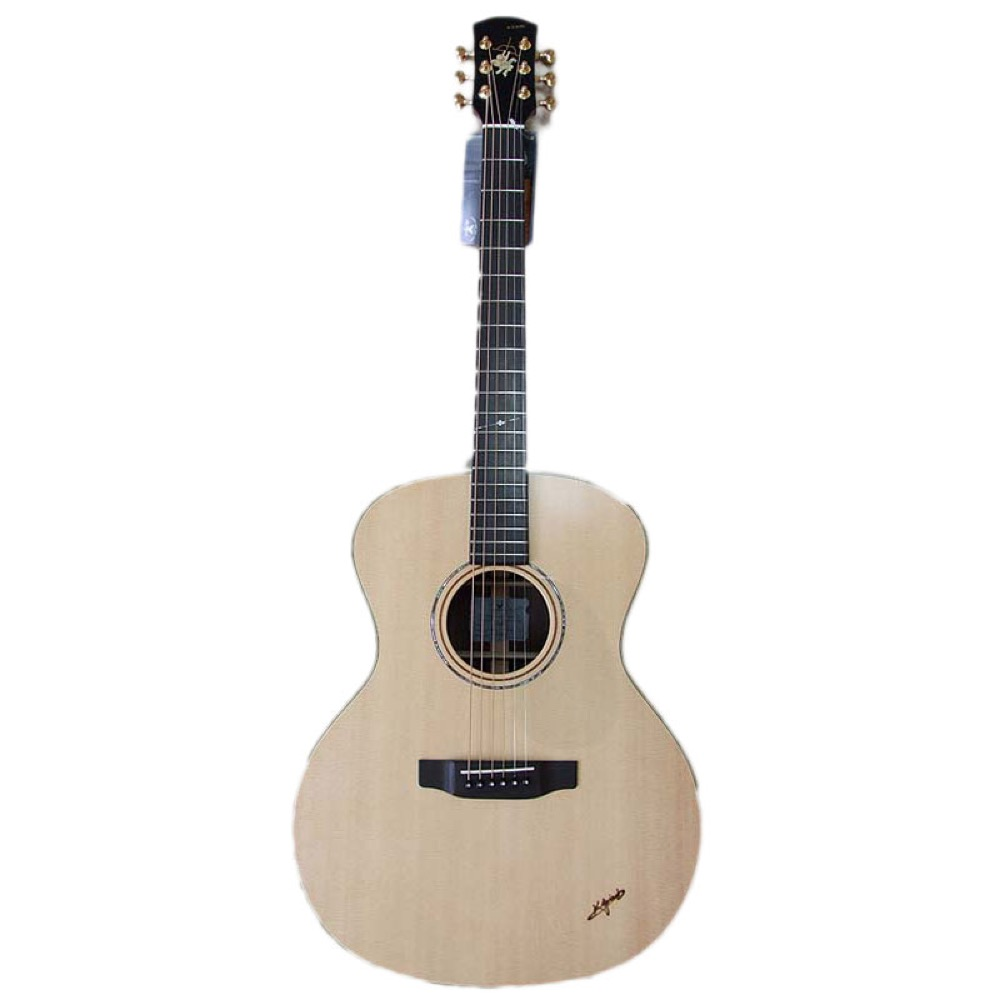 K.YAIRI BL-120 N アコースティックギター ハードケース付き