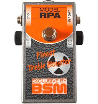 BSM RPA スペシャル・ブースター ギターエフェクター