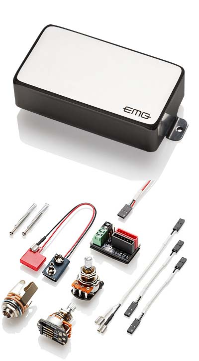EMG EMG-81 Chorme エレキギター用ピックアップ