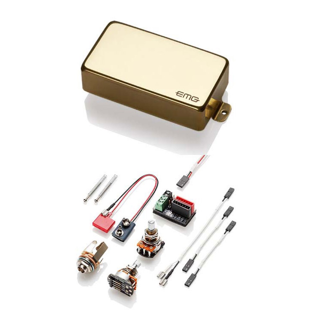 EMG EMG-81 Gold エレキギター用ピックアップ