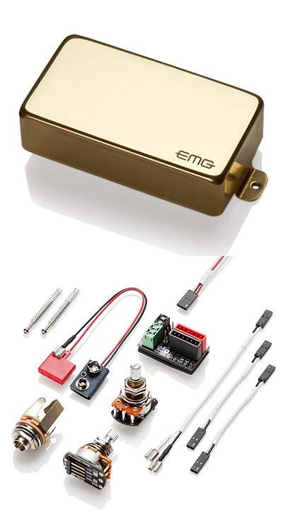 EMG EMG-60 Gold エレキギター用ピックアップ