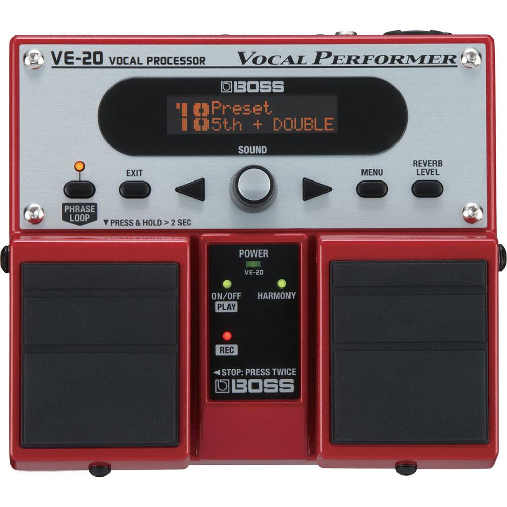 BOSS VE-20 보컬 음향 처리 장치