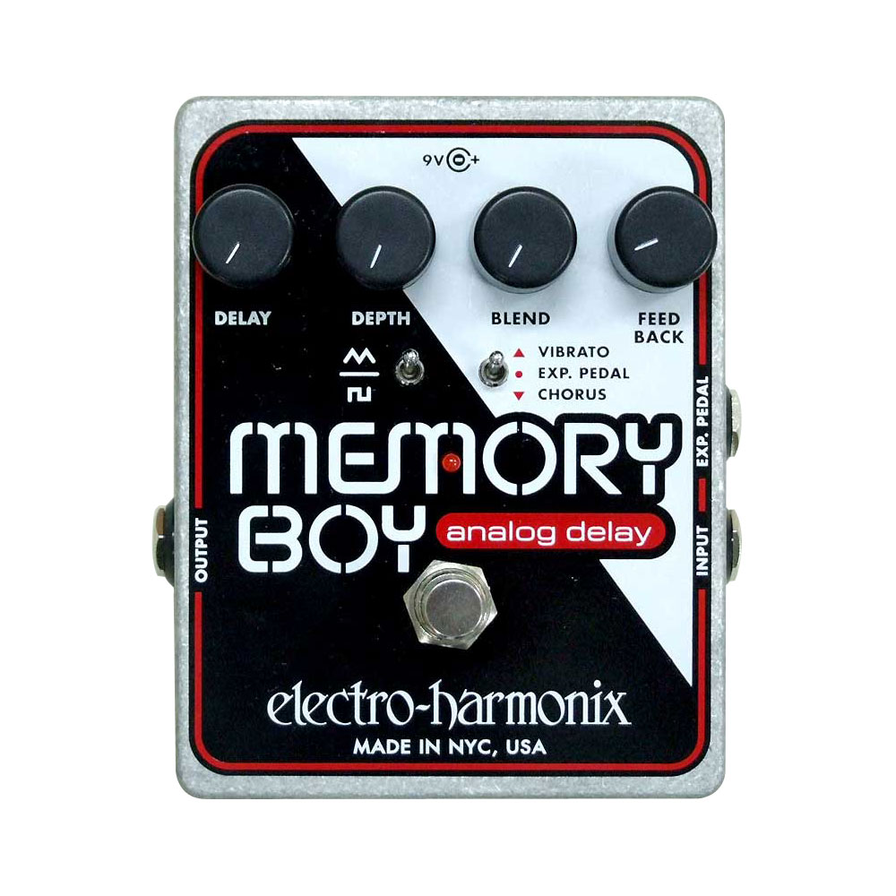 ELECTRO-HARMONIX Memory Boy アナログディレイ 正規輸入品