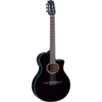 YAMAHA NTX700BL エレクトリックナイロンストリングスギター