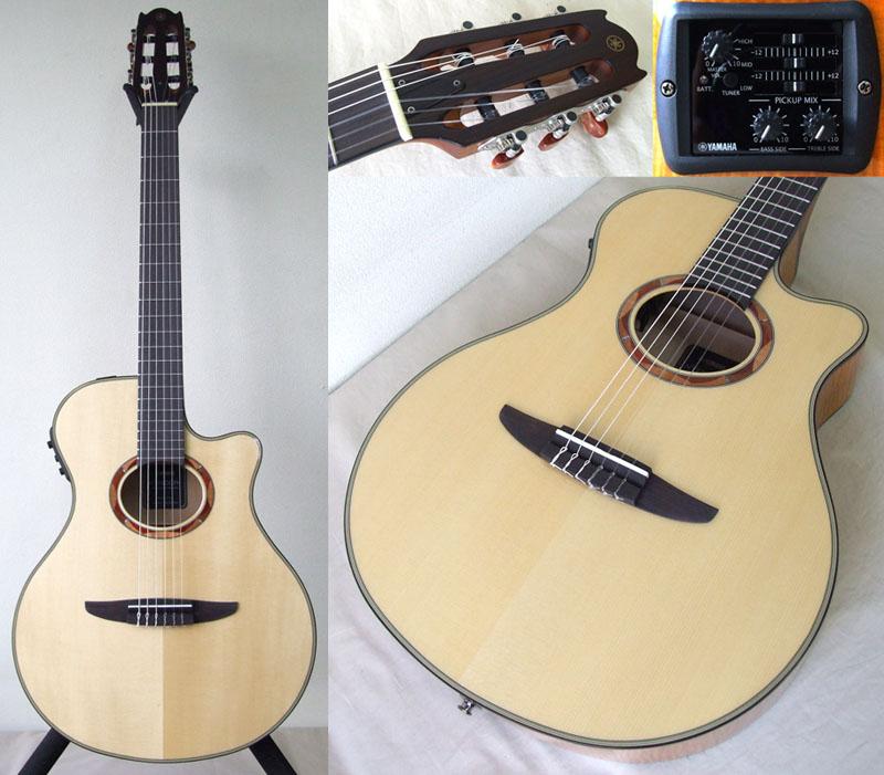 YAMAHA NTX900FM エレクトリックナイロンストリングスギター