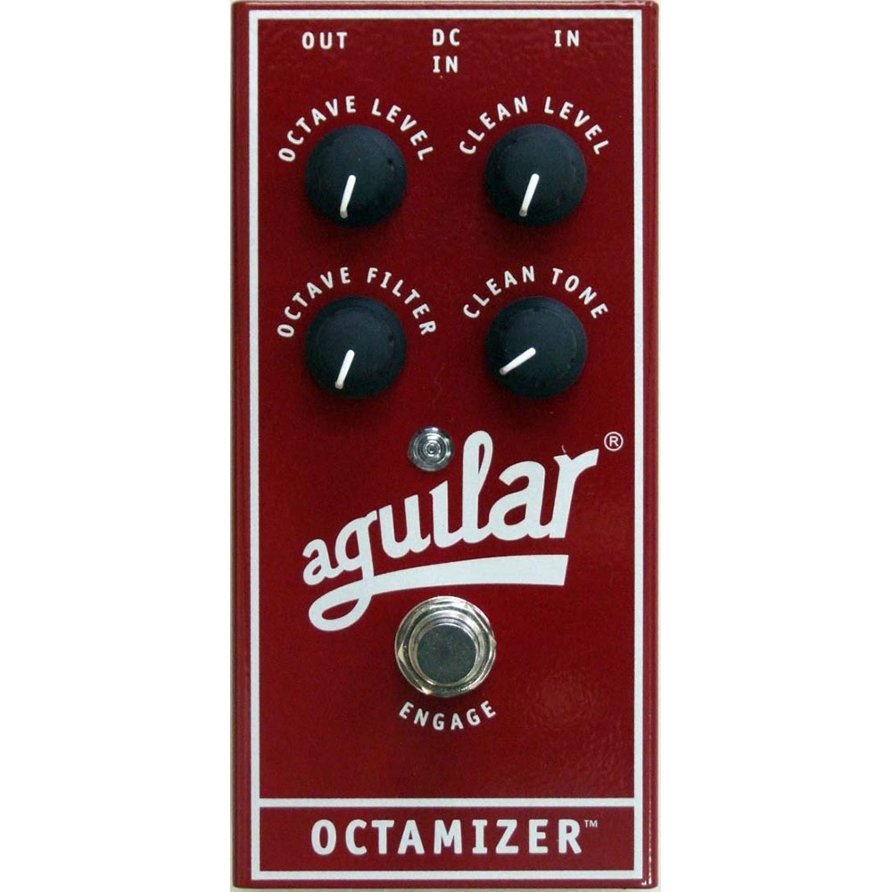 AGUILAR OCTAMIZER ANALOG OCTAVE PEDAL ベース用エフェクター