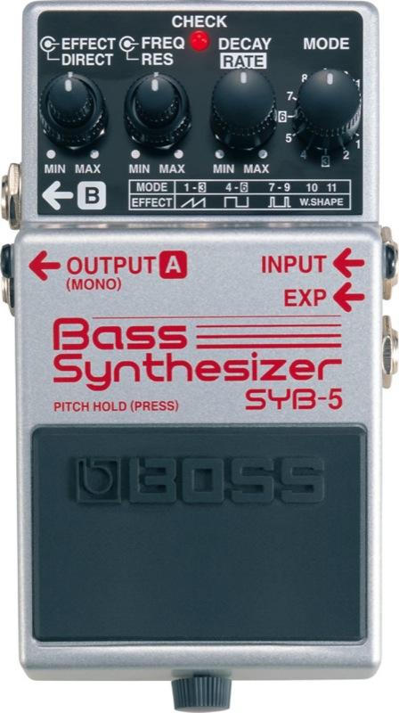 BOSS SYB-5 ベースシンセサイザー エフェクター
