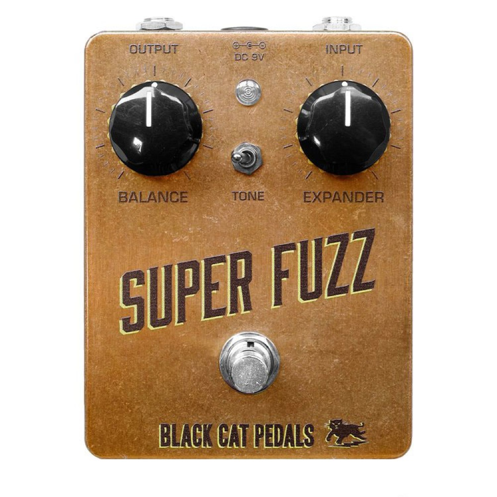 Black Cat Super Fuzz ファズ エフェクター