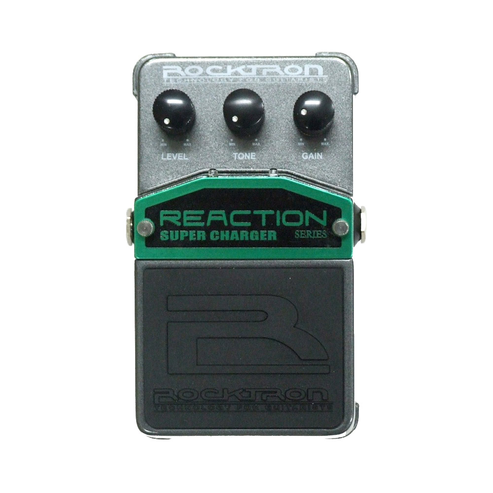 ROCKTRON REACTION SUPER CHARGER エフェクター