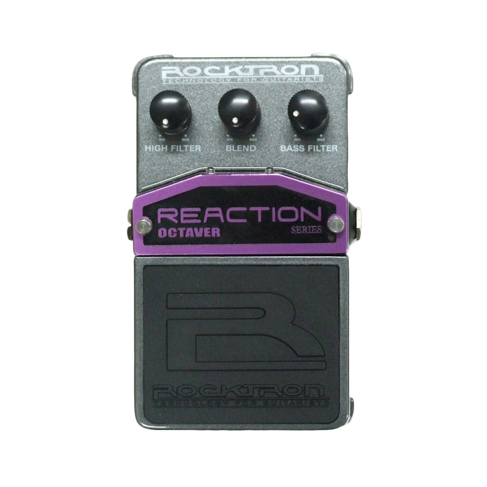 ROCKTRON REACTION OCTAVER エフェクター