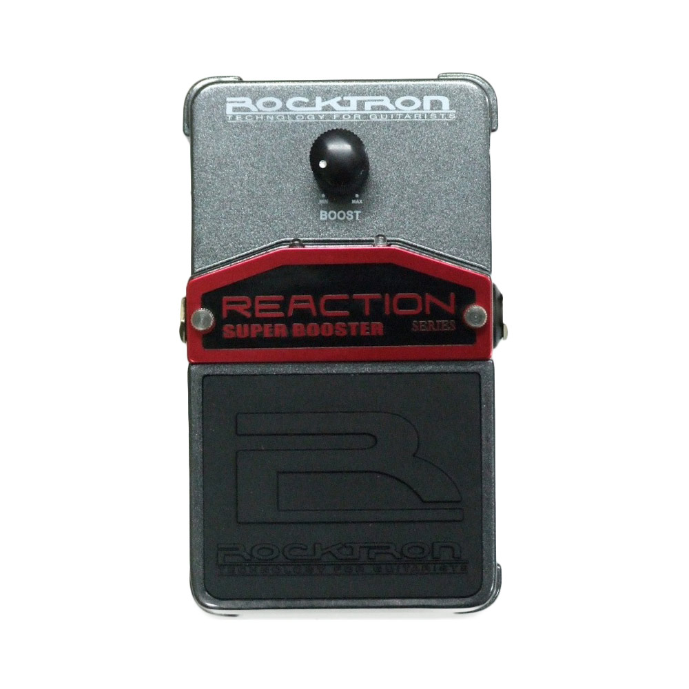 ROCKTRON REACTION SUPER BOOSTER エフェクター