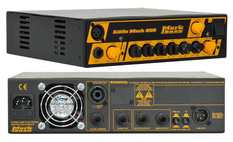 Markbass Little Mark 800 MAK-LM800 ベースヘッドアンプ