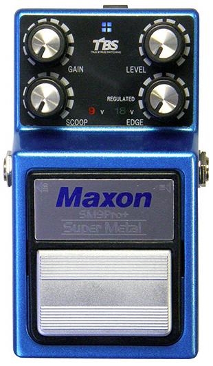MAXON SM9Pro+ ギターエフェクター