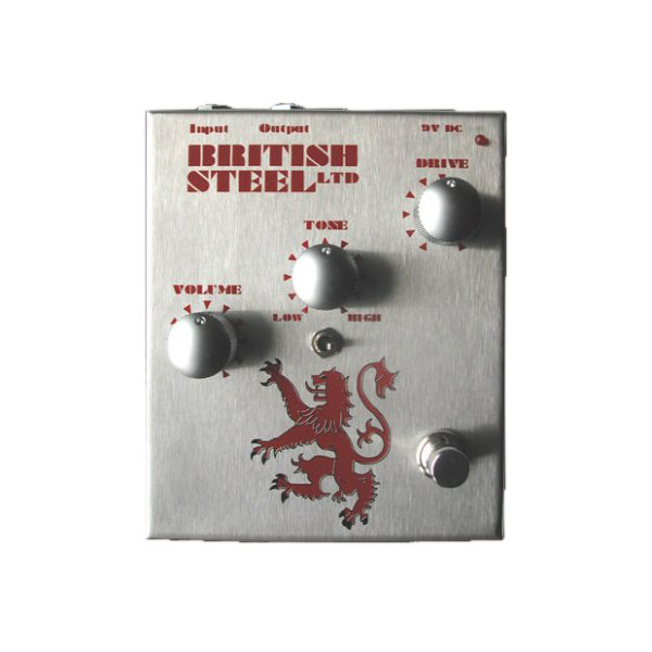Musician Sound Design BRITISH STEEL Distortion ディストーション