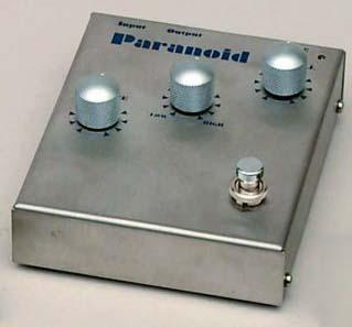 Musician Sound Design PARANOID Retro Fuzz ファズ