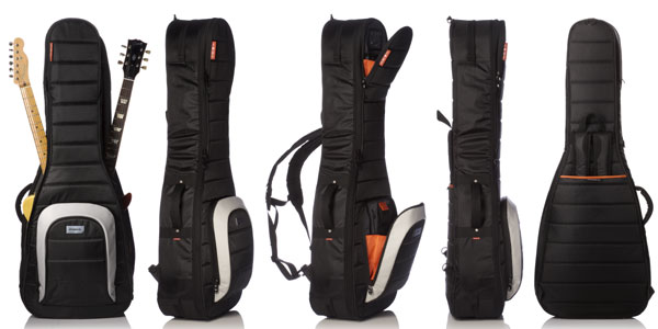 mono M80 2 G-BLK DUAL ELECTRIC GUITAR CASE JET BLACK 일렉트릭 기타 2개 수납 케이스