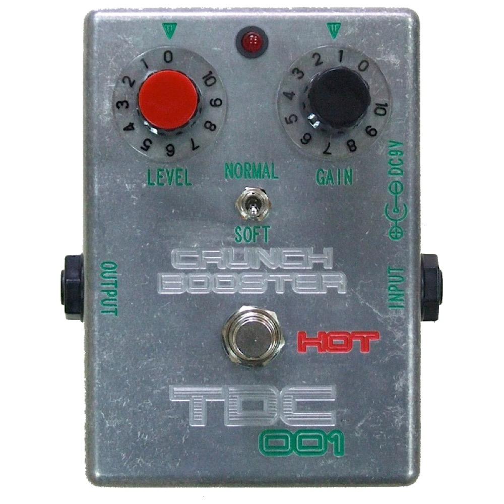 TDC TDC-001エフェクター CRUNCH BOOSTER HOT ブースター