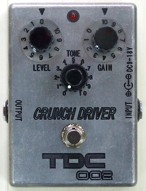 TDC TDC-002 CRUNCH DRIVER オーバードライブ