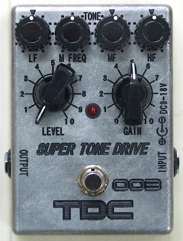 TDC TDC-003 SUPER TONE DRIVE オーバードライブ