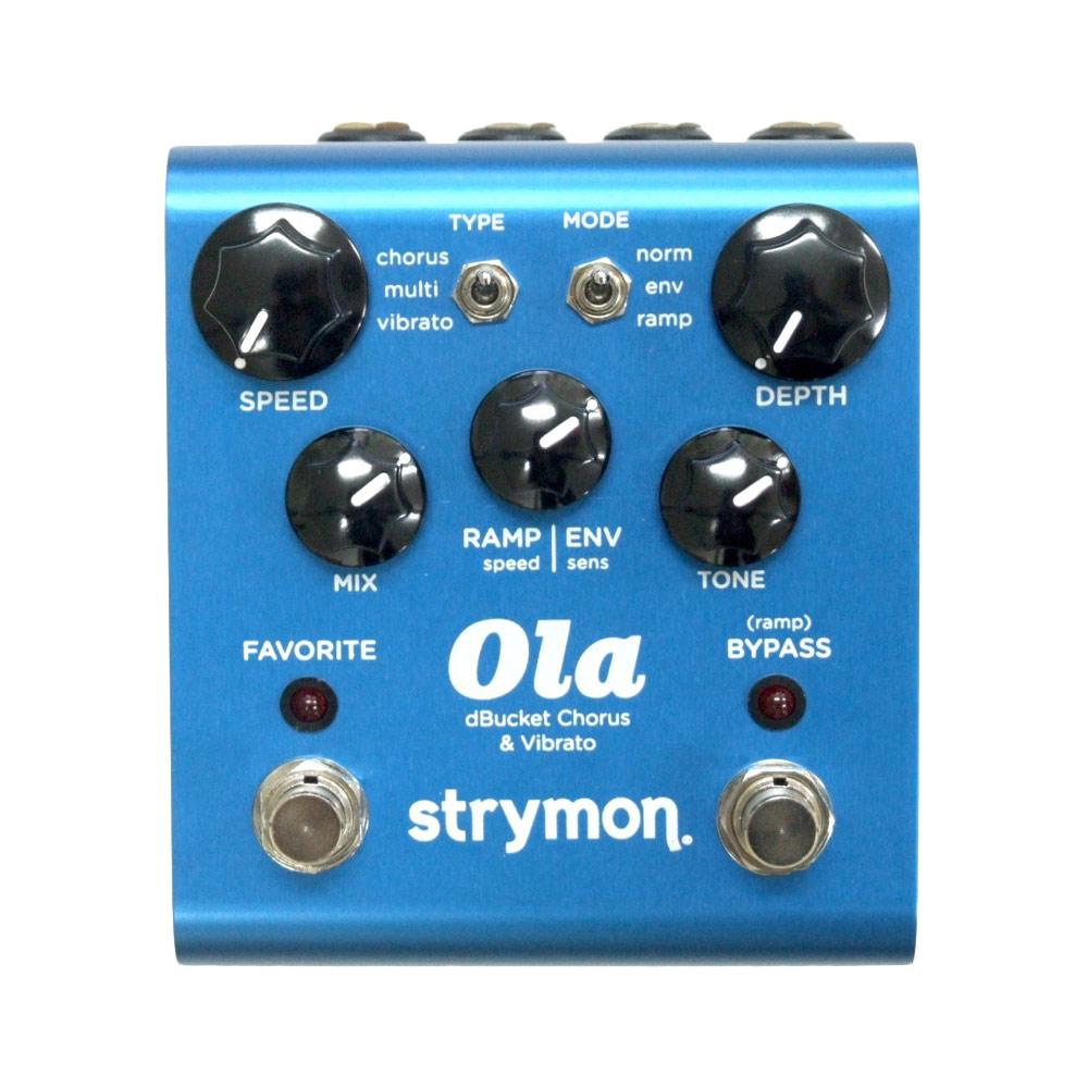 ストライモン オーラ・コーラス strymon Ola Chorus dBucket Chorus  Vibrato unit ギターエフェクター
