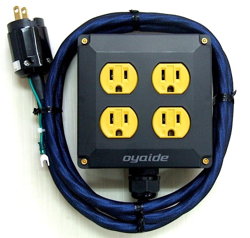 OYAIDE OCB-1 DXs 4口電源タップ