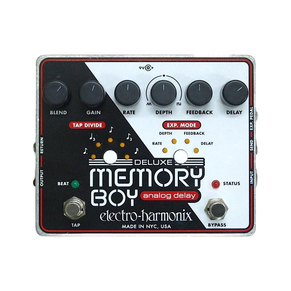 ELECTRO-HARMONIX Deluxe Memory Boy アナログディレイ 正規輸入品