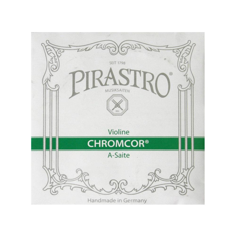 ピラストロ 1 4 8サイズ分数バイオリン弦 クロムコア A線 バイオリン弦 数量は多 8 319260 Chromcor 4+1 PIRASTRO 大注目