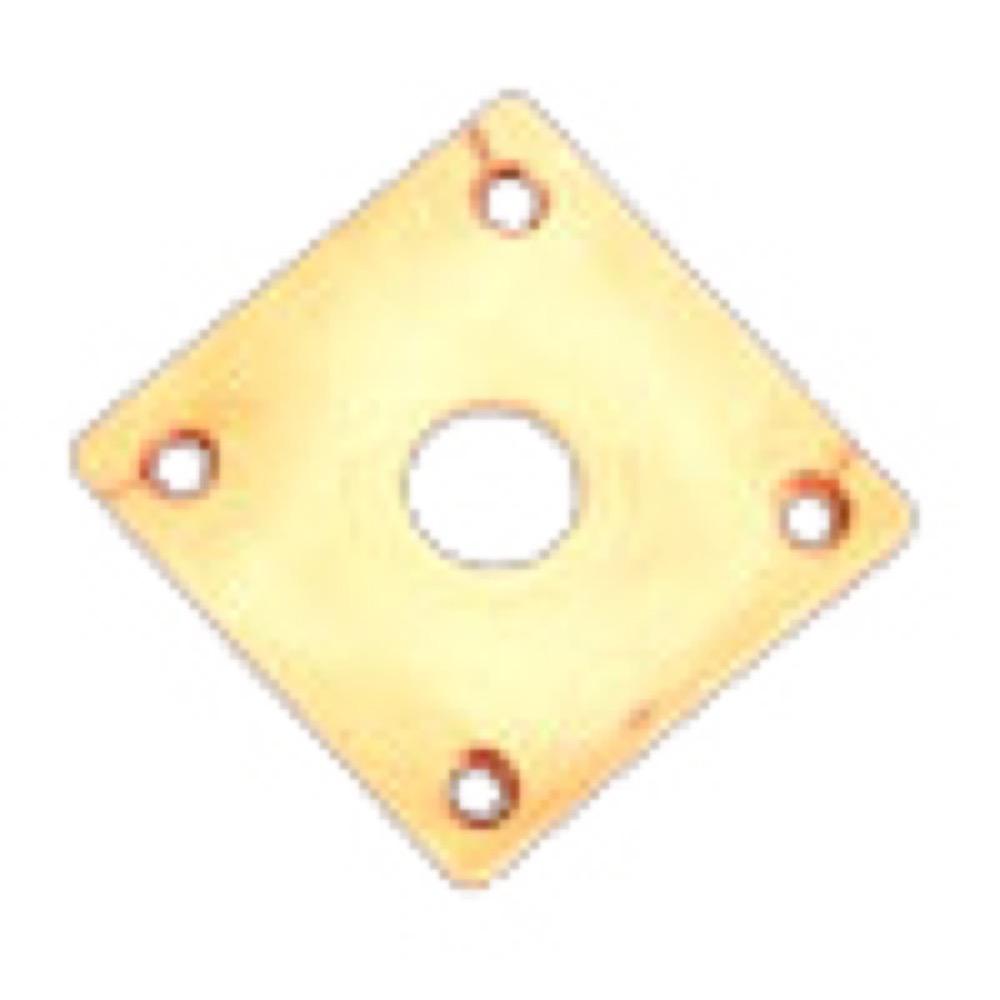 RS LG-JPC Cream AGED PARTS for LP-Type ジャックプレート