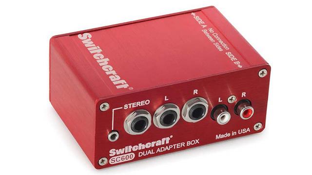 SWITCHCRAFT SC600 デュアルアダプターボックス