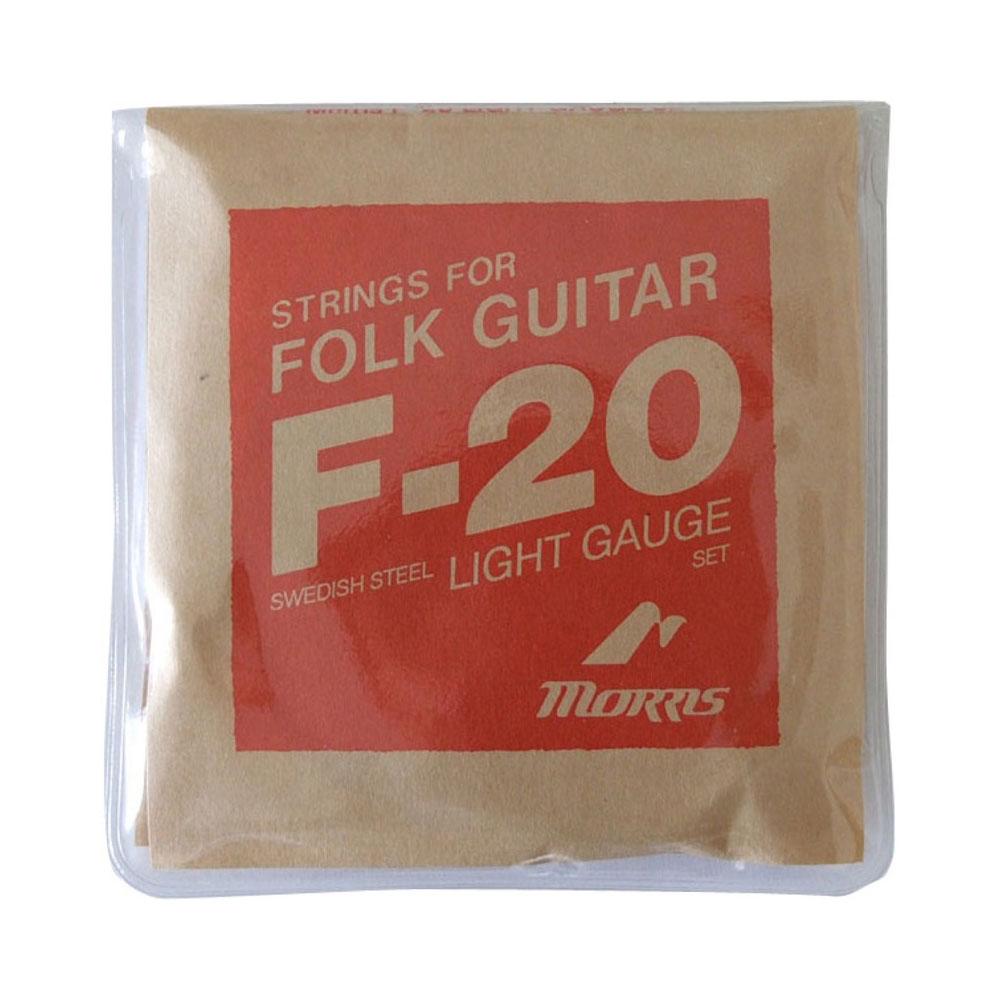 モーリス 人気商品 フォークギター弦 注目ブランド 012-052 アコースティックギター弦 MORRIS F20L
