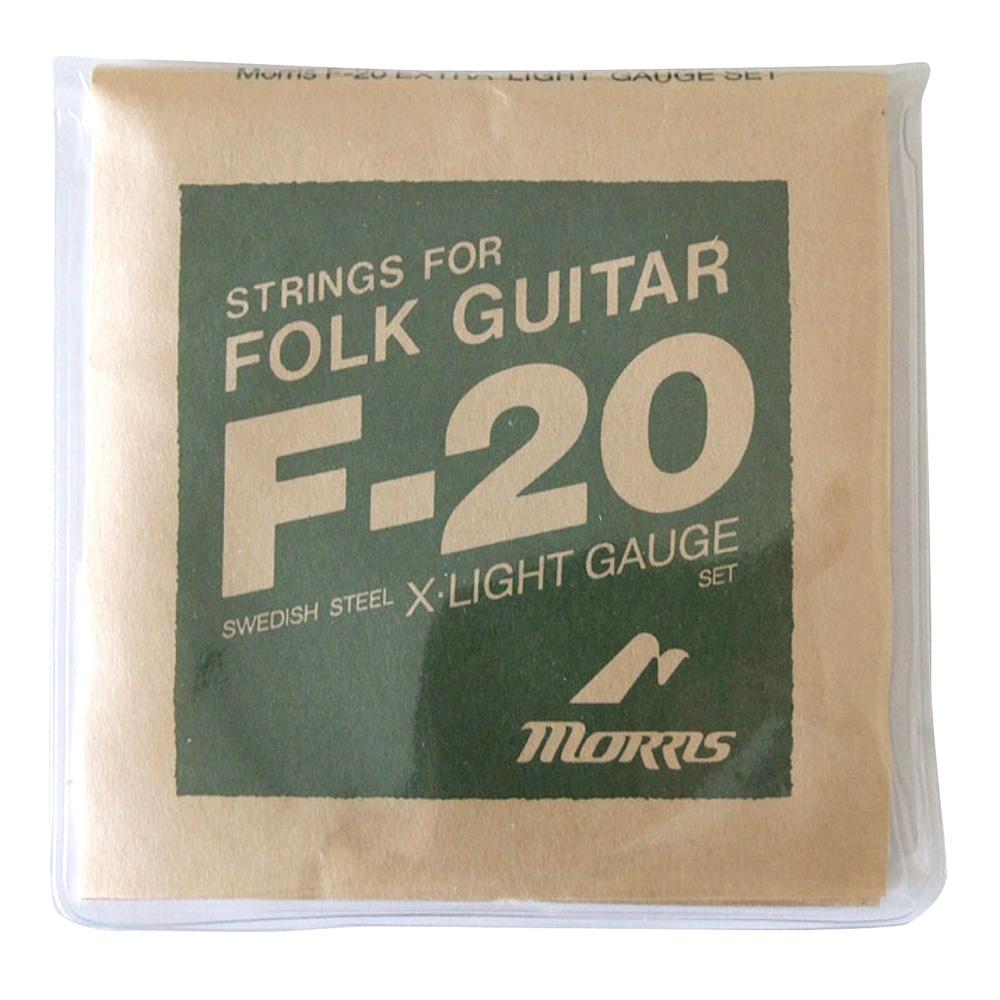 モーリス コストパフォーマンス アコースティックギター弦 MORRIS F20XL アコースティックギター弦