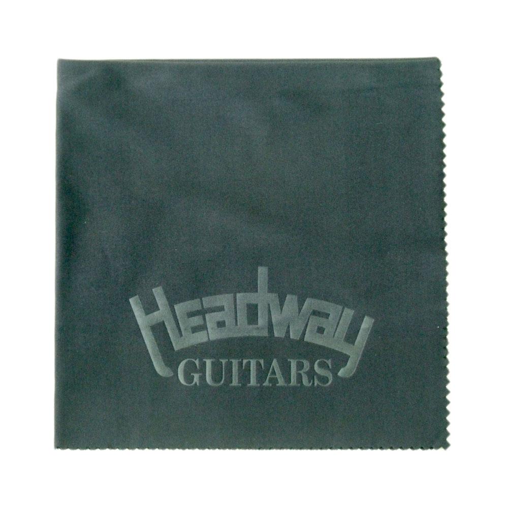 ヘッドウェイ マイクロファイバークロス 安売り HEADWAY MICRO CLOTH 選択 ギタークロス FIBER BLK