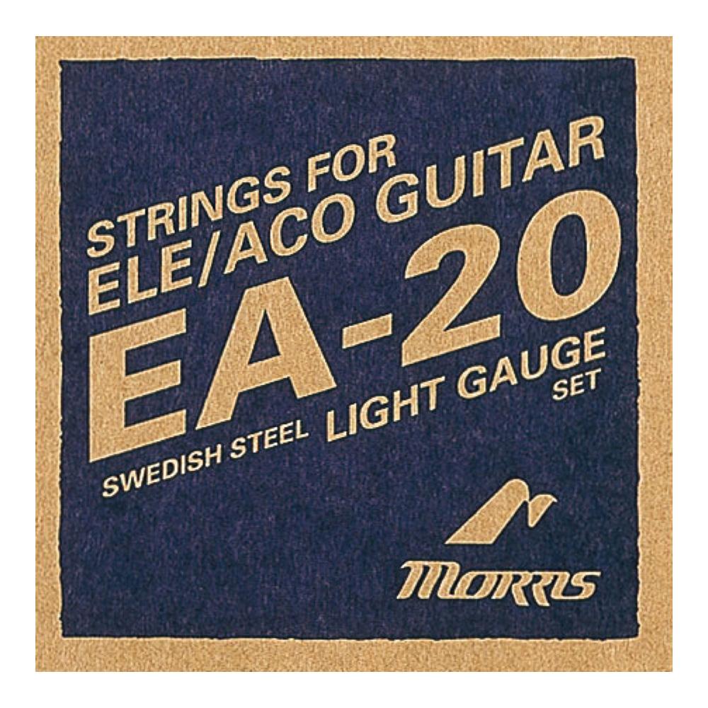 モーリス フォスファーブロンズ エレアコギター弦 アコースティックギター弦 MORRIS EA20L お得 新商品
