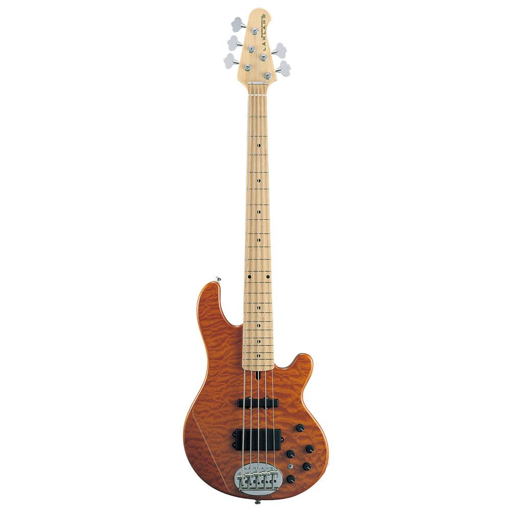 LAKLAND SL55-94 Deluxe Amber Translucent 5弦 エレキベース
