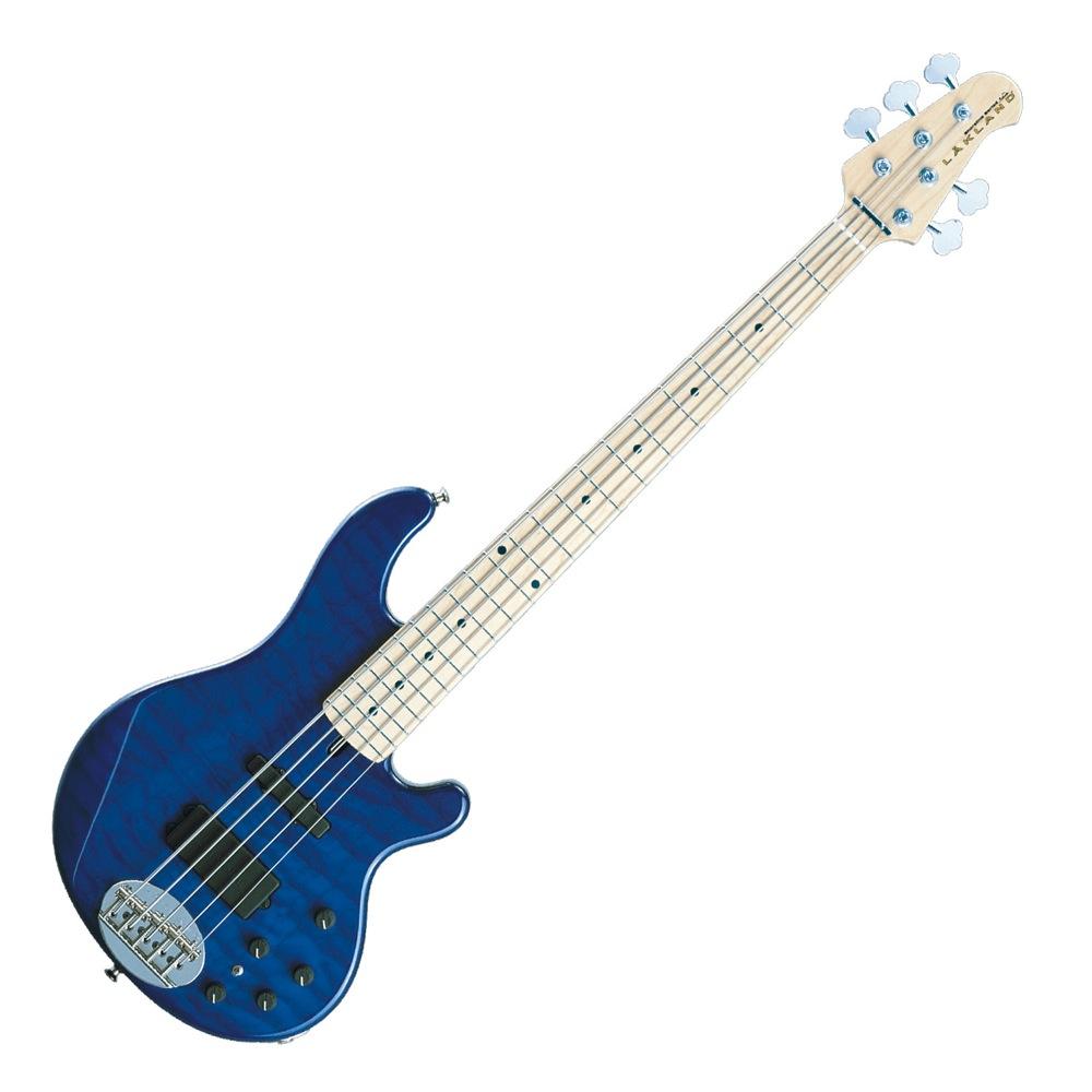 LAKLAND SL55-94 Deluxe Blue Translucent Maple エレキベース