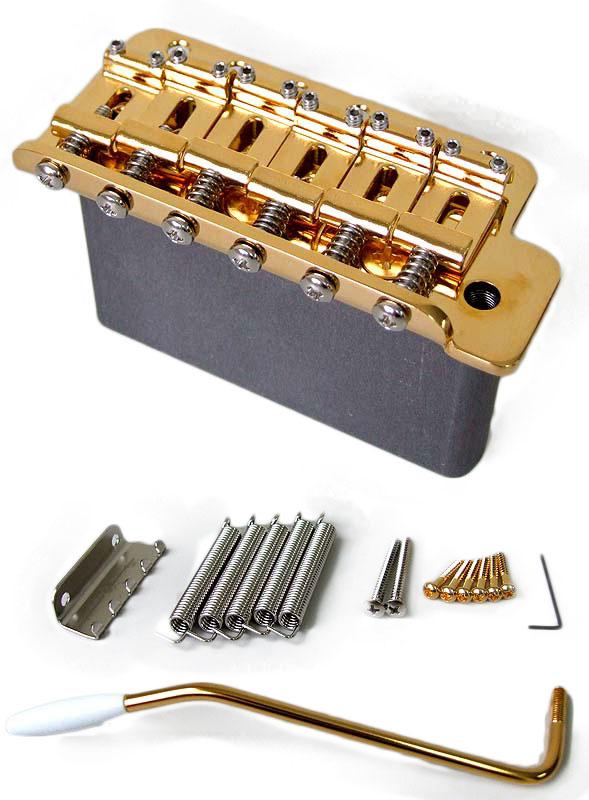Freedom Custom Guitar Research SP-ST-03 Synchronized Tremolo Unit Gold シンクロナイズドトレモロユニット ゴールド