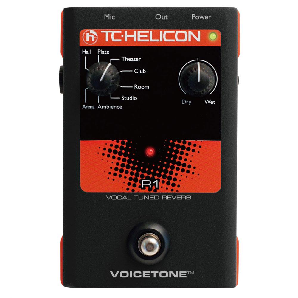 TC-HELICON VoiceTone R1 ボーカル用エフェクター
