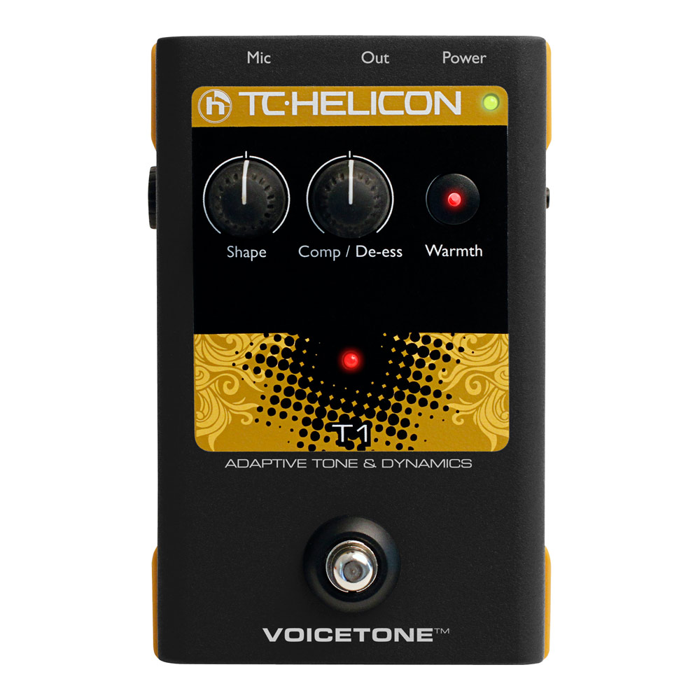 TC-HELICON VoiceTone T1 ボーカル用エフェクター
