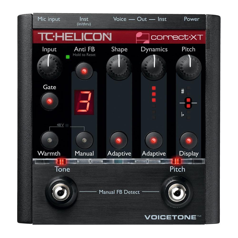 TC-HELICON VOICETONE Correct XT ボーカル用エフェクター