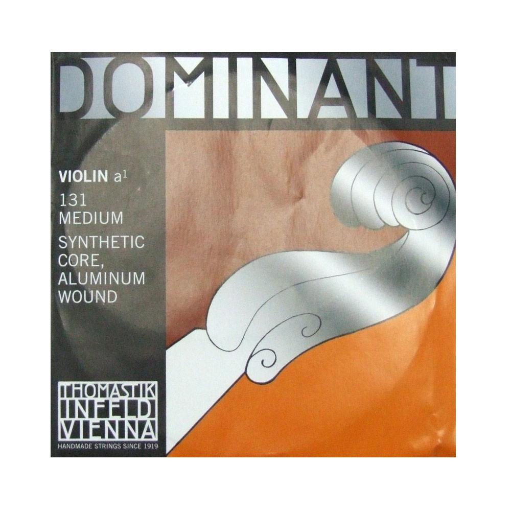 ドミナントバイオリン弦 A線バラ弦 ナイロン アルミ巻き Thomastik ドミナント Dominant A線 No.131 バイオリン弦 初売り 日本産
