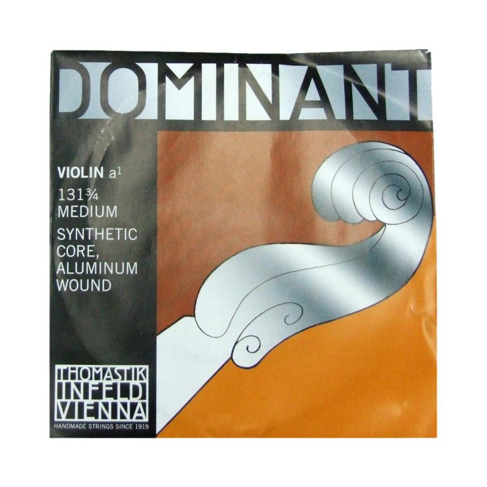 ドミナント3 新作 人気 4分数バイオリン用弦 A線バラ弦 今季も再入荷 ナイロン アルミ巻 Thomastik Dominant バイオリン弦 A線 ドミナント No.131 3 4