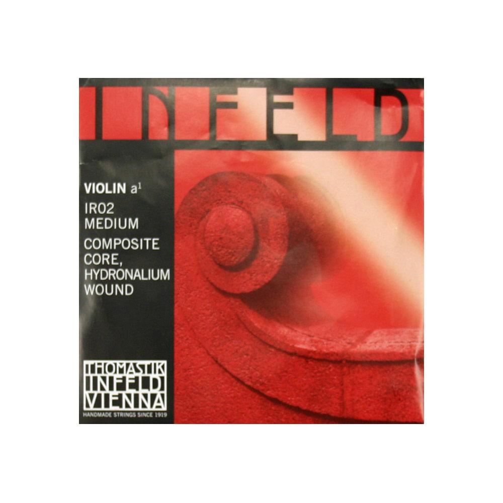 インフェルト A線 HYDRONALIUM巻き Thomastik IR02 バイオリン弦 セール商品 注文後の変更キャンセル返品 赤 RED Infeld インフェルド