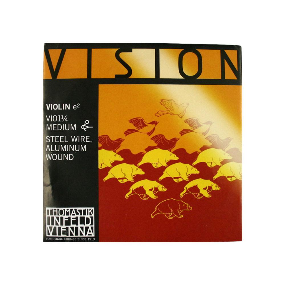 ヴィジョン 1 4分数バイオリン用 E線弦 Thomastik VISION E線 4 VI01 ビジョン 記念日 バイオリン弦 出色