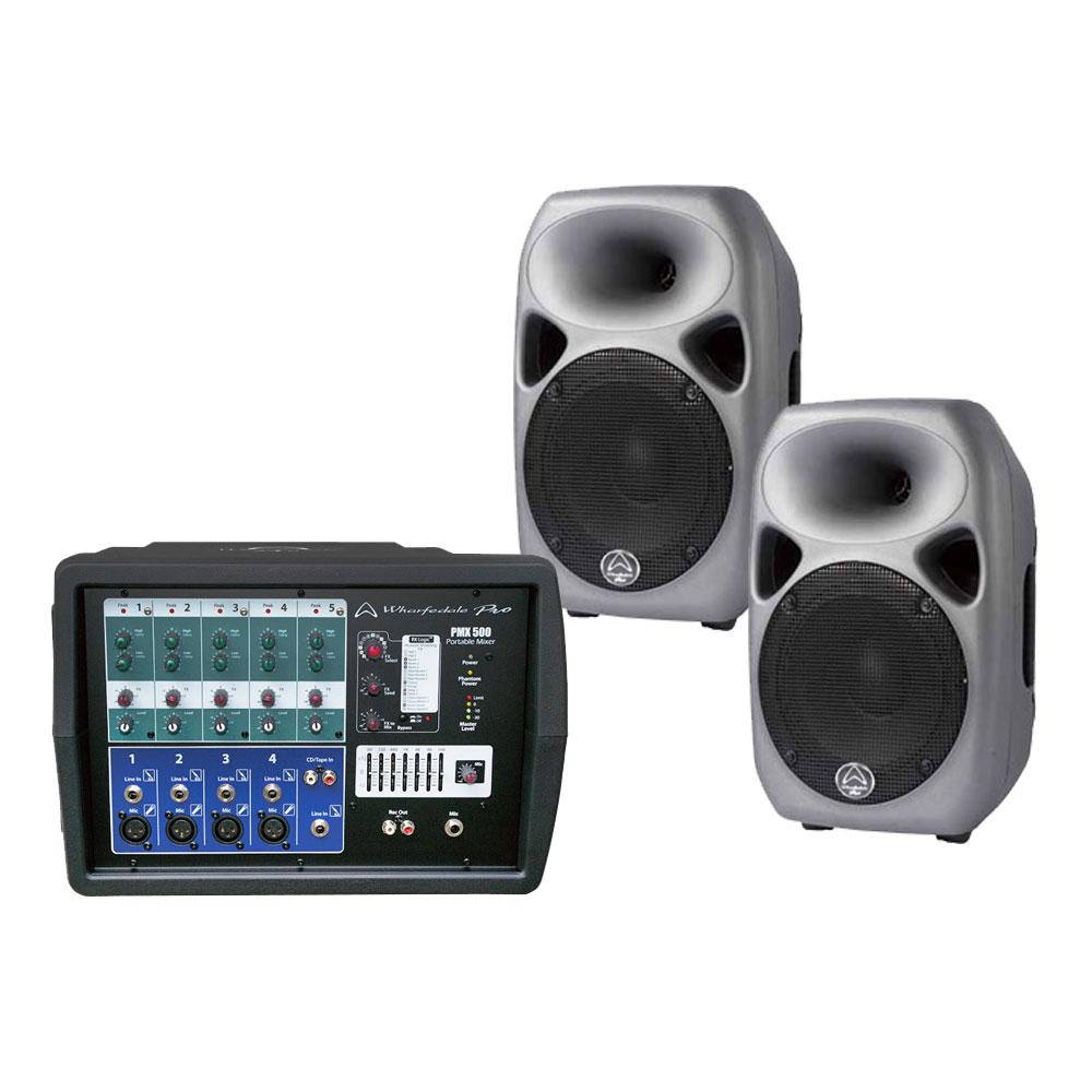 Wharfedale Pro Live Set 500 PMX500+Titan8 Passive PAセット